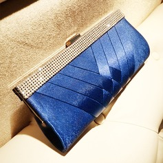 Elegant Silk Clutches/Satchel (012118290)