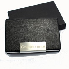 Personalized Cool Leather Card Case
