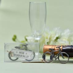 Kreativ/Klassisk stil Cykeln Mallen Zink Legering Flasköppnare (Säljs i ett enda stycke)