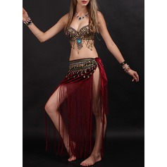 Women's Dancewear Velvet Belly Dance Outfits