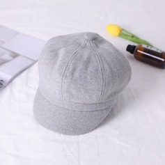 Signore Moda misto lana Cappello a bombetta / Cloche