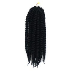 Tresses de torsion cheveux synthétiques Tresses 12 brins par paquet 90 g