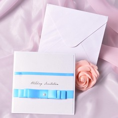 Classic Style Wrap & Pocket Invitation Cards With Bows (Set of 50) (118040261)