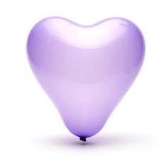 Lovely Heart Design Balloon (set of 50) (More Colors)