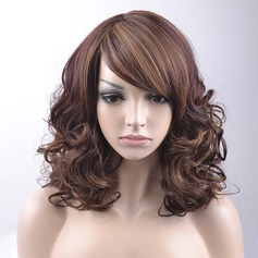 Loose Wavy Synthétique Perruques capless 220g