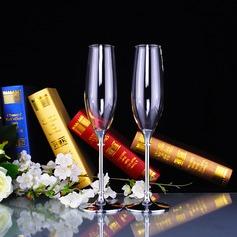 Elegant Toasting Flutes With Rhinestone (126141432)
