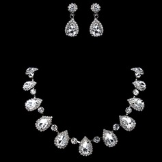 Gorgeous Alloy With Rhinestone Women's Jewelry Sets (011017870)