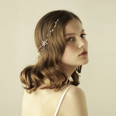 Vintage Alloy/Freshwater Pearl Headbands (Sold in single piece)