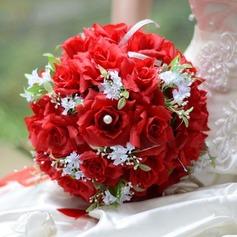 Especial Redondo Cetim Buquês de Noiva