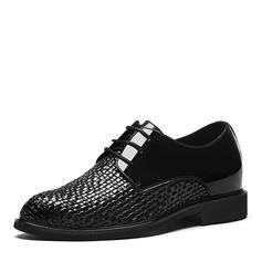 Men's Microfiber Leather Dress Shoes Men's Oxfords
