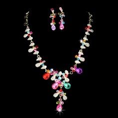 Vackra Och Legering/Strass Damer' Smycken Sets