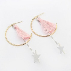 Fashional Copper With Tassels Ladies' Fashion Earrings