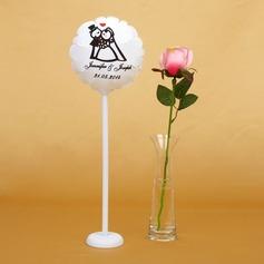 Personlig Brud och brudgummen PVC Bröllops ballong
