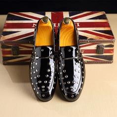 Men's Microfiber Leather Horsebit Loafer Casual Men's Loafers