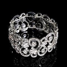 Maravilloso Aleación/Diamantes de imitación Señoras' Pulseras
