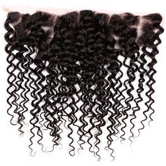 """13""""*4"""" 4A Non remy Kinky Curly les cheveux humains Fermeture (Vendu en une seule pièce) 100 g"""