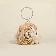 Gorgeous Silk/Tulle Wristlets/Bridal Purse/Top Handle