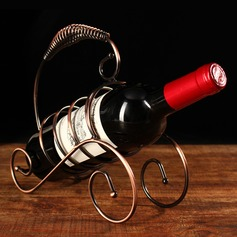Wine Rack Iron Creative Elegant Table Centerpieces