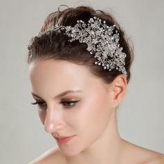 Exquisite A Level Rhinestone/Rock Crystal Quartz Headbands