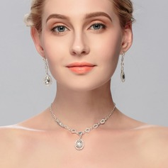 Luxurious Alloy With Rhinestone Women's/Ladies' Jewelry Sets