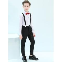 Ragazzi 4 pezzi Stile Classico Abiti per Paggetti /Page Boy Suits con Camicia Pantaloni ciclo continuo Bretella