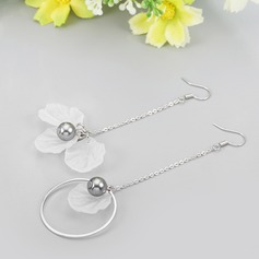 Unique Alloy With Lace Women's Fashion Earrings
