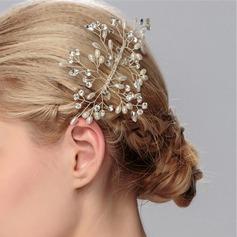 Jolie Alliage/De faux pearl Des peignes et barrettes (Vendu dans une seule pièce)
