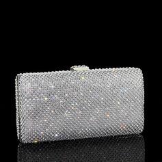 Glänzende Kristall / Strass Handtaschen/Wristlet Taschen (012110911)