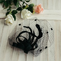 Dames Klassiek/Romantische met Tule Fascinators