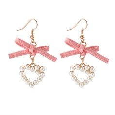Unique Alloy Imitation Pearls With Imitation Pearl Women's Fashion Earrings