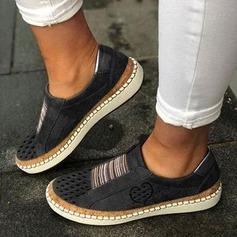 Femmes Similicuir Talon plat Chaussures plates avec Autres chaussures