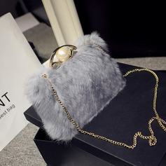Delicate Fur Clutches