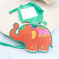Lovely Elephant Rubber Luggage Tags  (051151705)