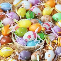 Plast ägg utformning (Set om 12)