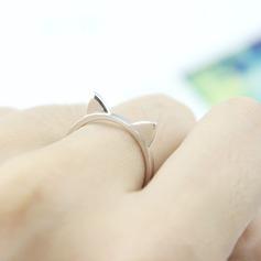 Uniek Verzilverd Vrouwen Fashion Ringen