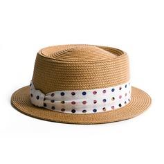 Damen Klassische Art/Elegant Bast Stroh Strohhut/Strand / Sonne Hüte