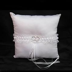 Ring-Kissen in Satiniert mit Bänder