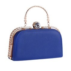 Elegant Patent Leather Fashion Handbags (012139063)