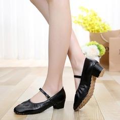 De mujer Cuero Danza latina Estilo Moderno Zapatos de danza