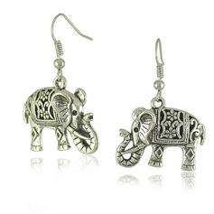 Santo elefante Señoras' Pendientes de la manera