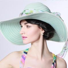 Ladies' Beautiful/Fashion/Glamourous/Elegant/Unique/Amazing/Eye-catching/Charming/Fancy/Romantic/Vintage Beach/Sun Hats