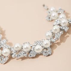 Fashionable Alloy/Rhinestones Ladies' Bracelets