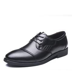 Menn Egte Lær Flate sko moderne stil med Blondér Dansesko