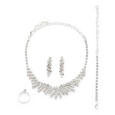 Klassisk Legering/Strass Damer' Smycken Sets