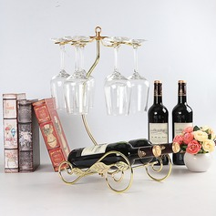 Wine Rack Iron Nice Pretty Table Centerpieces