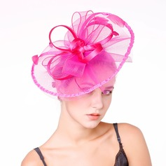Dames Nice Feather/Netto garen met Feather Fascinators/Kentucky Derby Hats/Theepartij hoeden