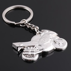 Personalized Motorcycle shaped Zinc Alloy Keychains