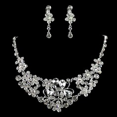Gorgeous Alloy/Rhinestones Ladies' Jewelry Sets (011006359)