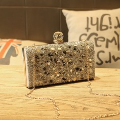 Elegant Sequin/PU Clutches