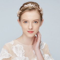 Elegant Alloy Headbands With Crystal (Sold in single piece)